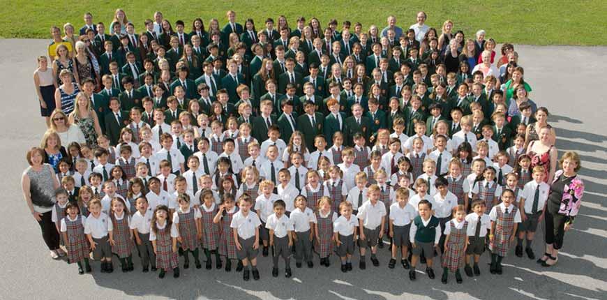 Class photo of 2015/2016