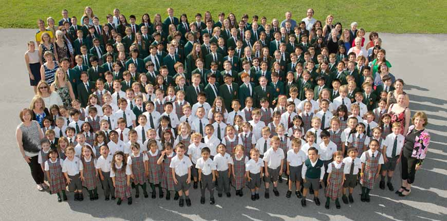 Class photo of 2015/2016